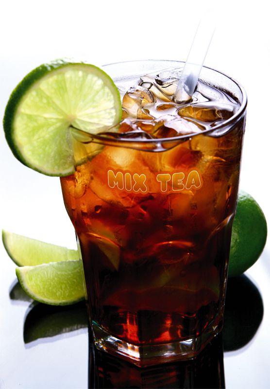 Preparado de Chá Mate - Sabor Limão - Mix Tea - 5 Pct de 1,1 Kg