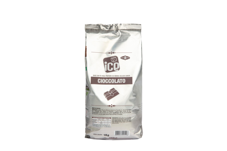 Ice Cioccolato  - base em pó  - Kit 10 c/ pcts