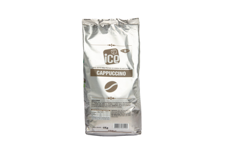 Ice Cappuccino - Base em pó - Kit c/ 10 Pcts