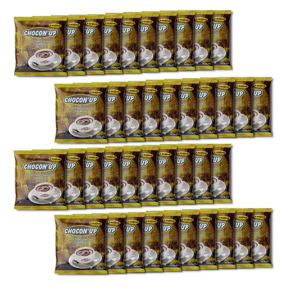 CHOCON UP - Chocolate cremoso tipo Europeu - Cx c/ 40pctes de 200g