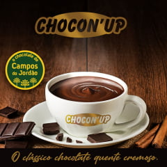 CHOCON UP - Chocolate cremoso tipo Europeu - Cx c/ 40pctes de 200g