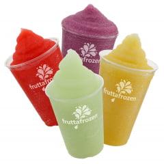 Frutta Frozen - Base em pó para Bebida Frozen - Sabor Limão - KIT COM 10 pctes