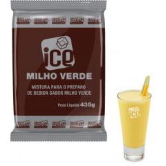 Base em Pó para Bebida Láctea Sabor Milho Verde - Ice Milho Verde - 10 Pct de 435 gr