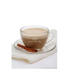 4 pacotes (200g cada) de Chocon'up (Chocolate Quente Cremoso) + 1 pacote (250g) de Chai Latté Tea (Chá Indiano)